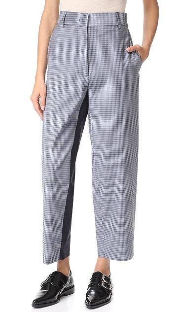 Cedric Charlier Straight Leg Trousers
