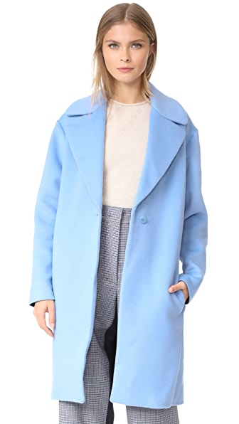 Cedric Charlier Long Jacket - Light Blue