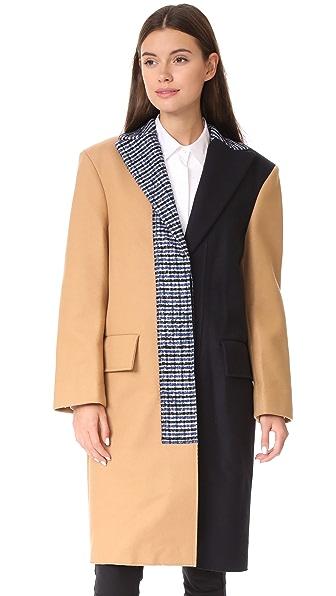 Cedric Charlier Long Jacket - Multi
