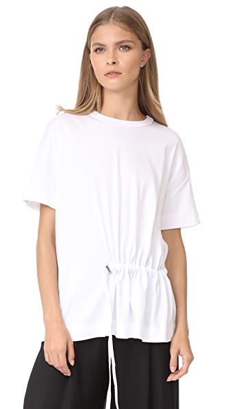 Cedric Charlier Short Sleeve T-Shirt - White