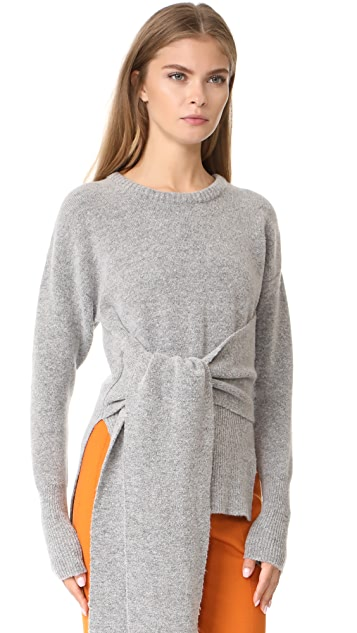 Cedric Charlier Tie Sweater
