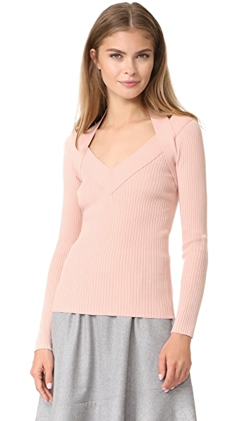 Cedric Charlier V Neck Sweater