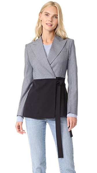 Cedric Charlier Jacket In Grey