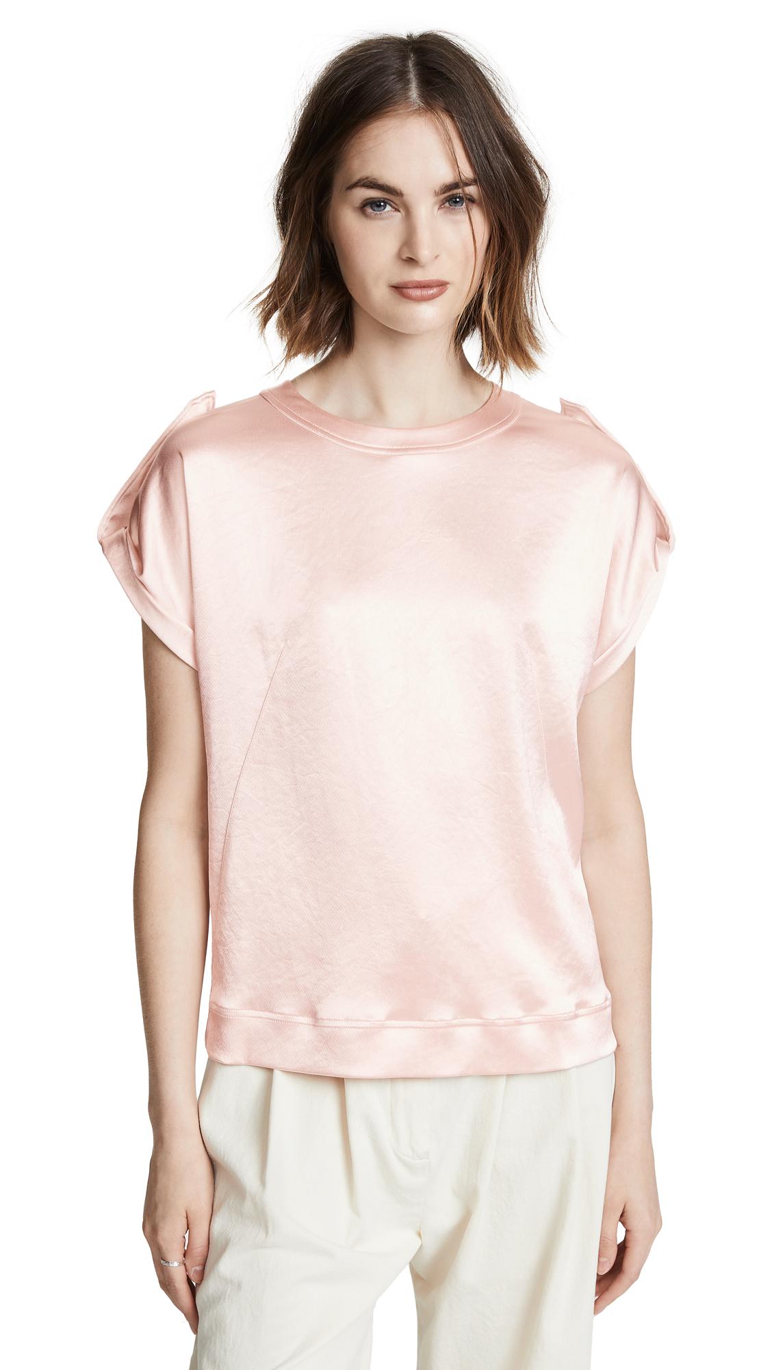 Cedric Charlier Metallic Blouse - Pink