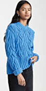 Cedric Charlier Cable Sweater