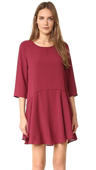 Cooper & Ella Karina Dress - Merlot
