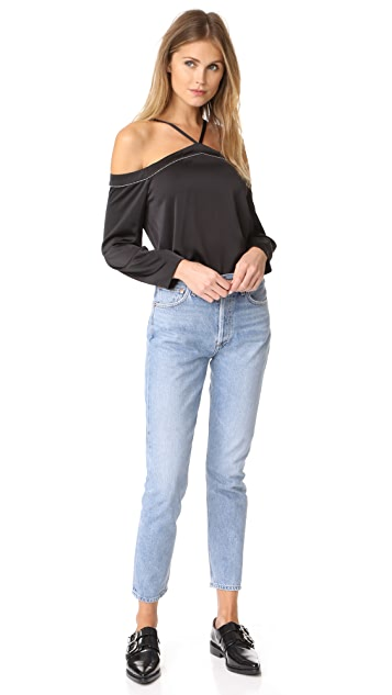 Cooper & Ella Joline Cold Shoulder Top