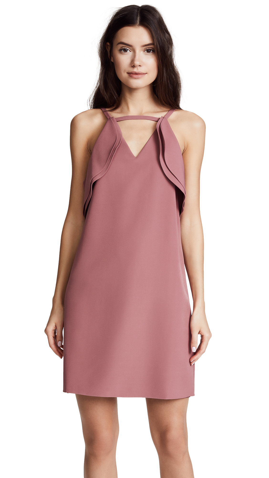 Cooper & Ella Ruffle Halter Dress