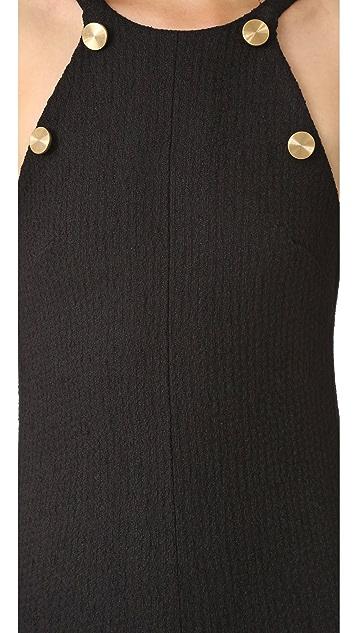 Christopher Esber Boucle Towel Ruffle Release Dress