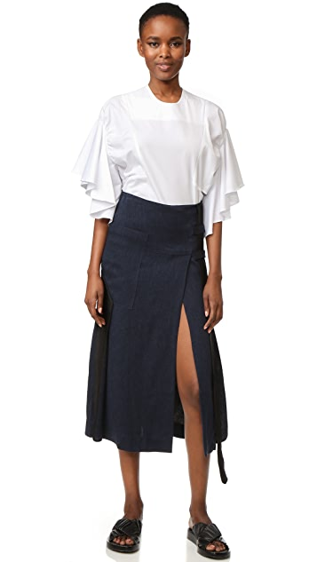 Christopher Esber Belted Skirt