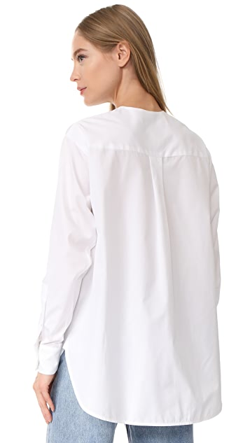 Christopher Esber Oversize Link Shirt