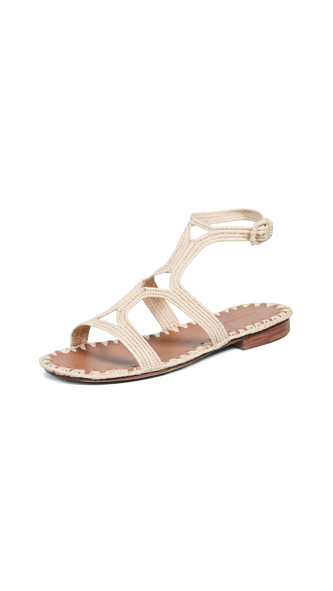 Carrie Forbes Hind Sandals - Natural