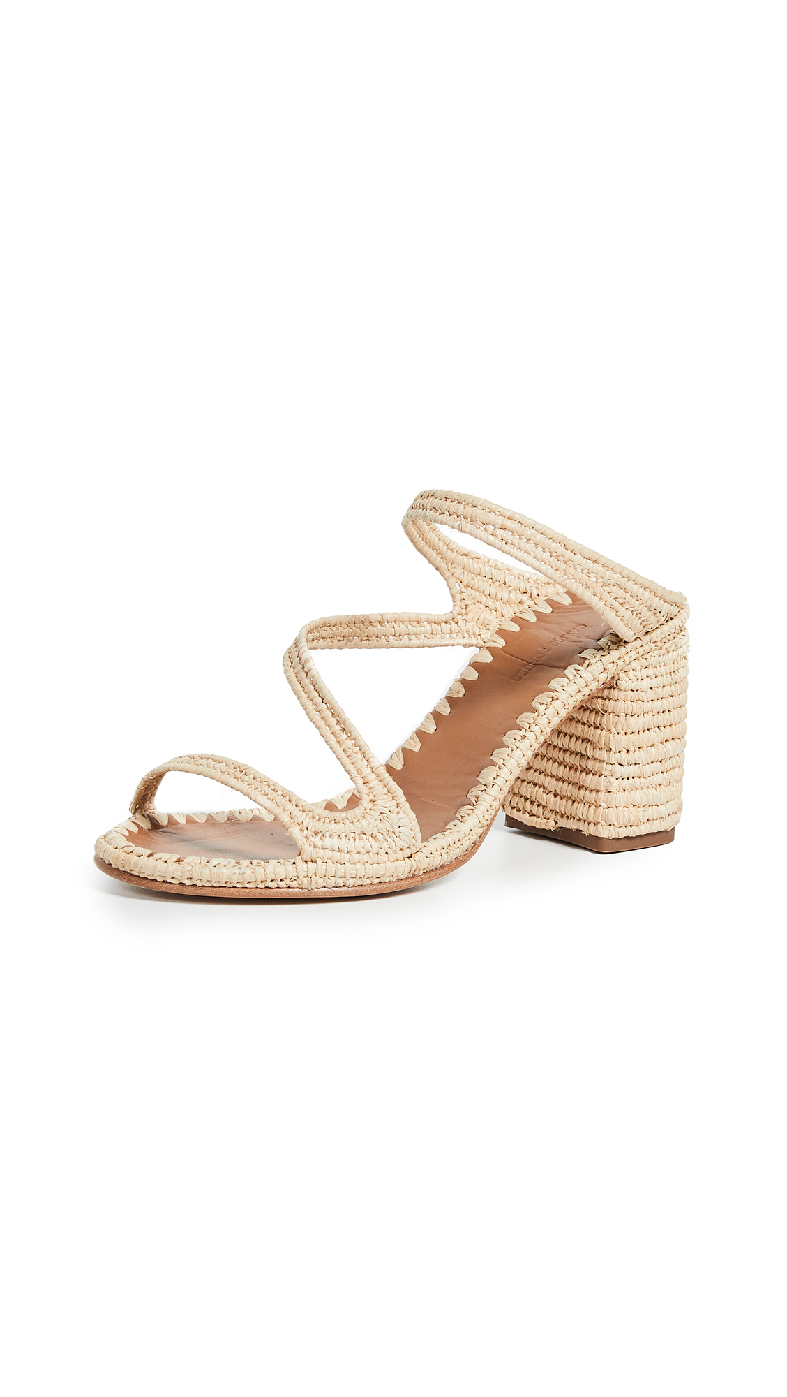 Buy Carrie Forbes Salah Heeled Mules online, shop Carrie Forbes