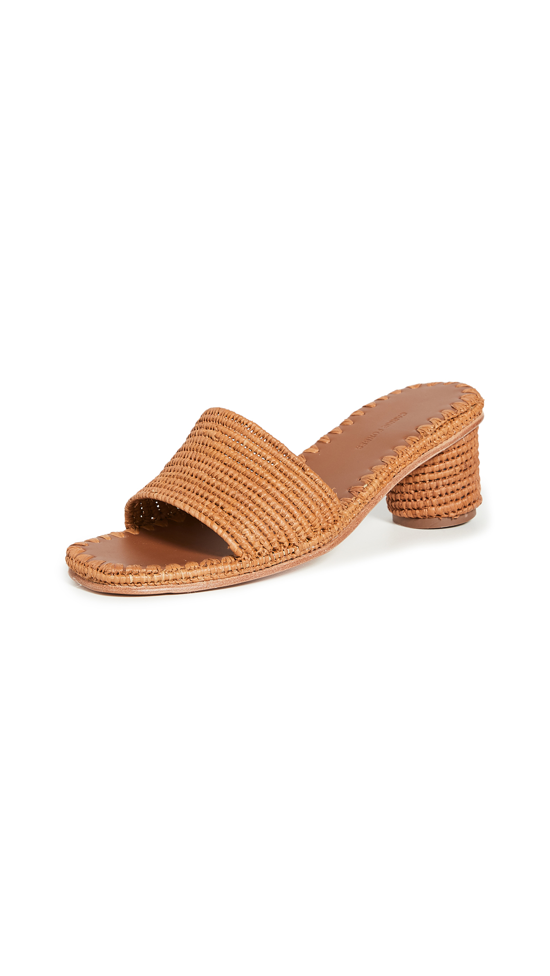 Buy Carrie Forbes Bou Heeled Mules online, shop Carrie Forbes