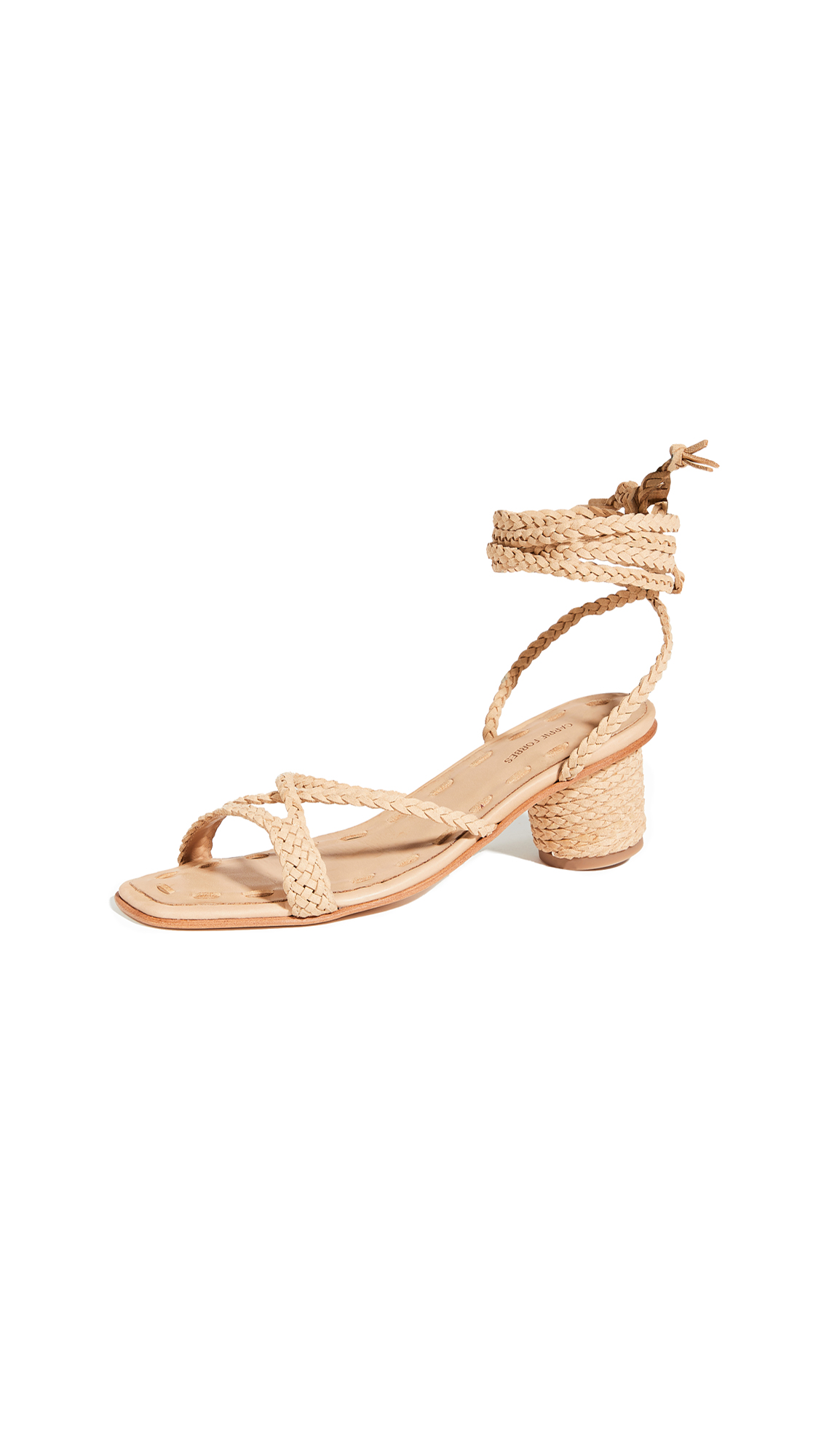 Buy Carrie Forbes Mai Wrap Sandals online, shop Carrie Forbes