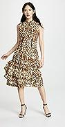 CF Goldman Corset Leopard Dress