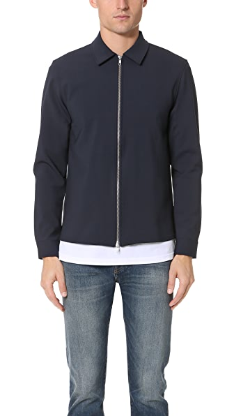 Capital Goods Bonded Wool Zip Jacket