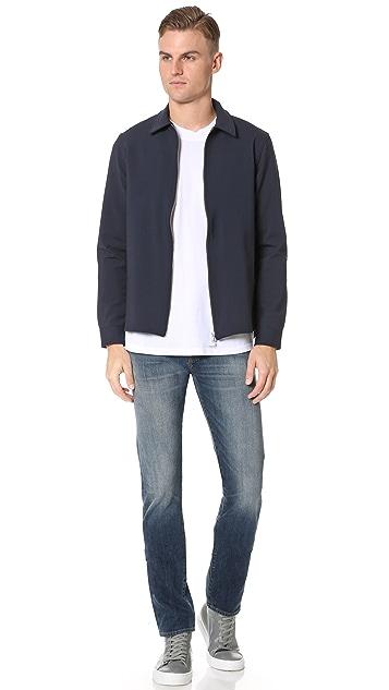 Capital Goods Bonded Wool Zip Jacket