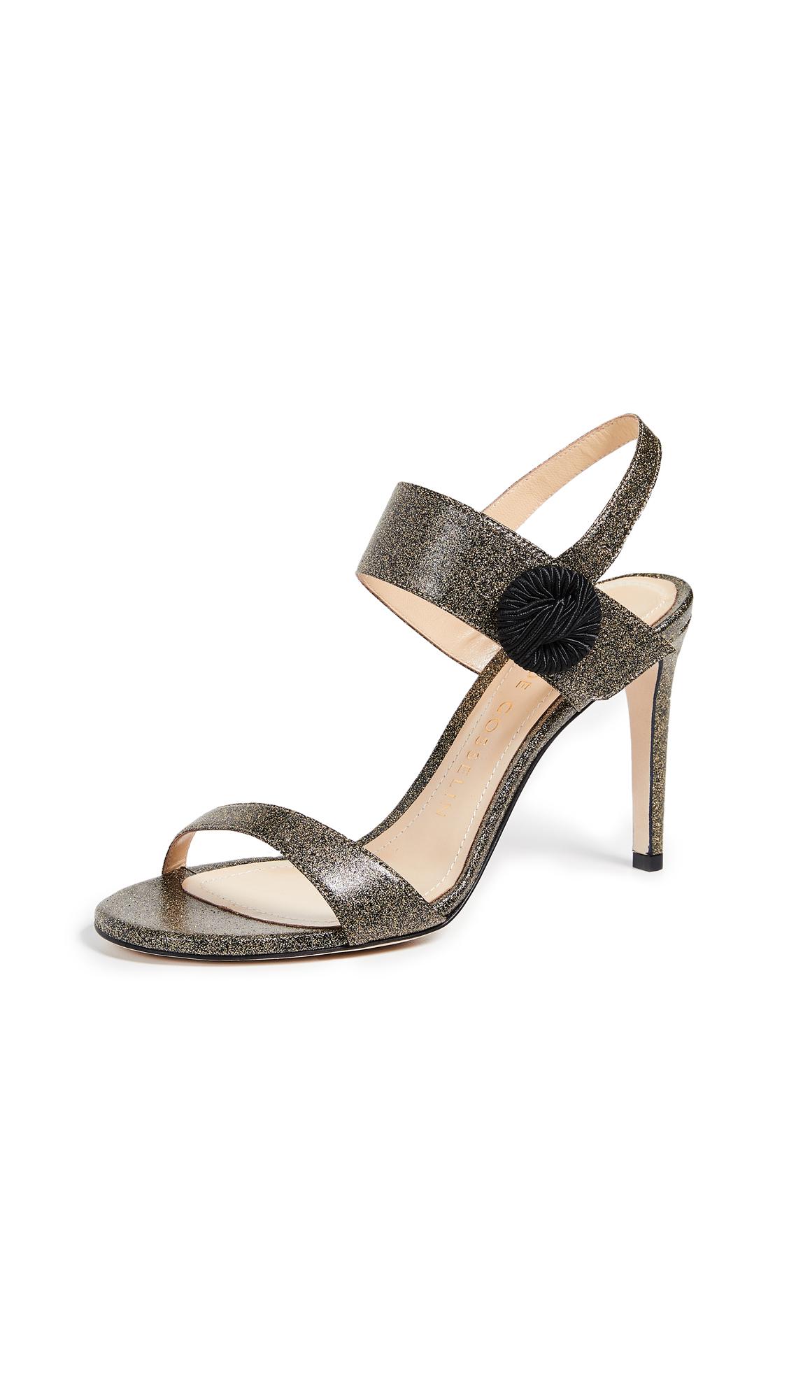 Chloe Gosselin Tori 90 Sandals - Gold