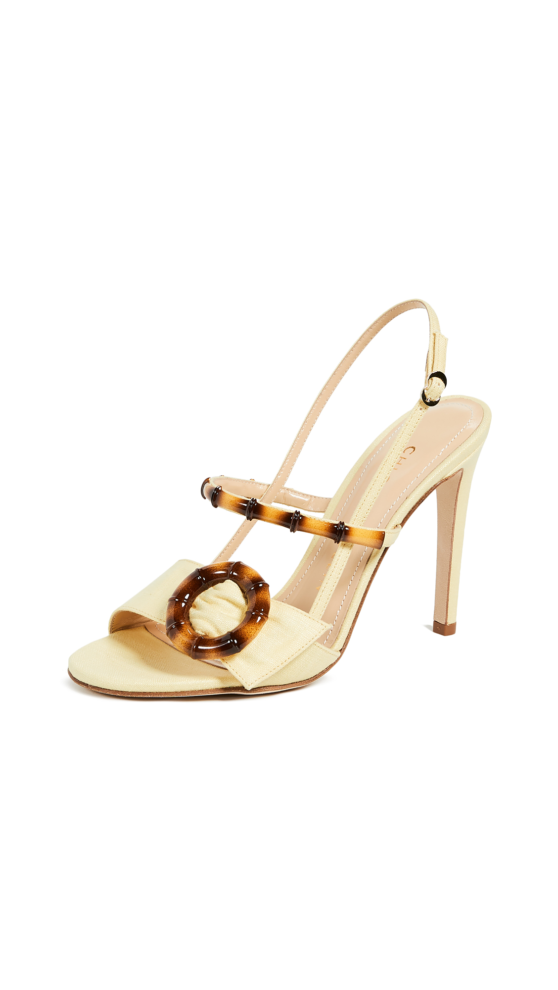 Chloe Gosselin Celeste Sandals - Lemon