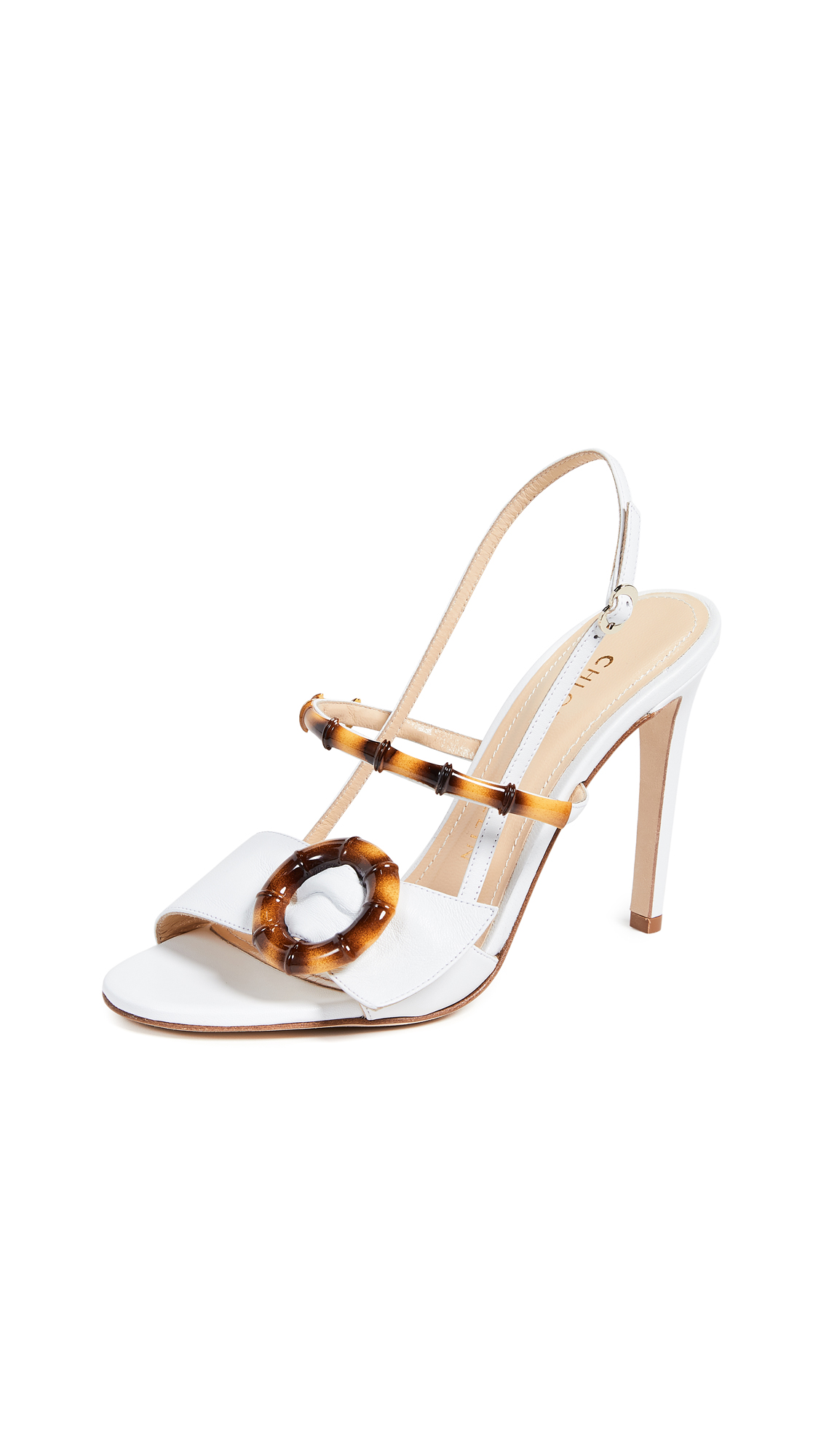 Chloe Gosselin Celeste Sandals - White