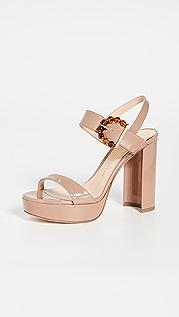 Chloe Gosselin Tori 90mm Buckle Sandals