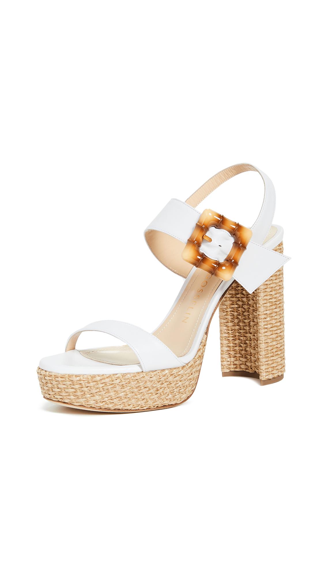 Buy Chloe Gosselin Amber Platform Sandals online, shop Chloe Gosselin