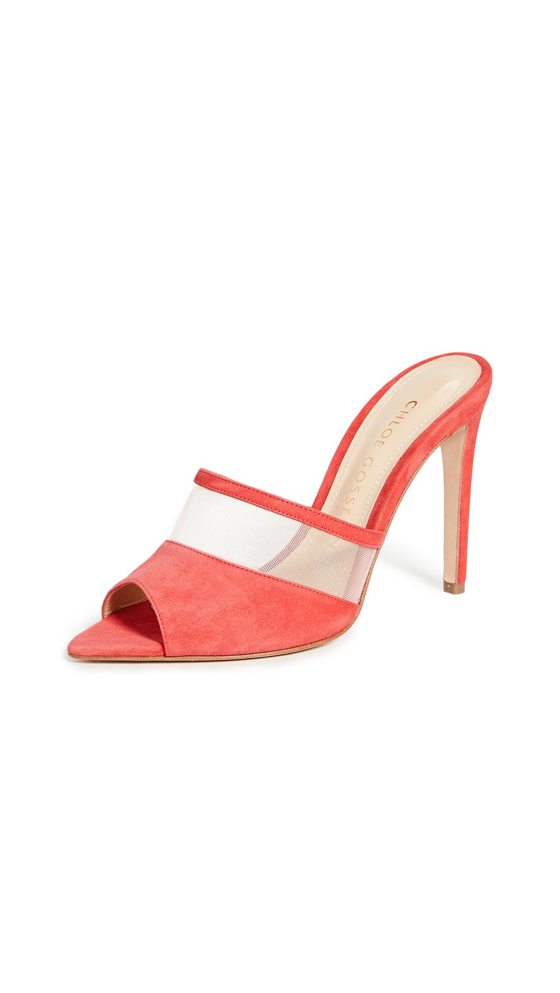 Buy Chloe Gosselin Liz Pointed Open Toe Mules online, shop Chloe Gosselin