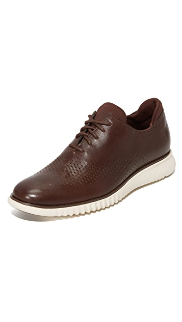 Cole Haan 2.Zerogrand Laser Perforated Wingtip Oxford
