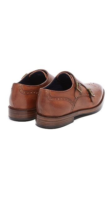 Cole Haan Hamilton Grand Double Monk Strap Shoes