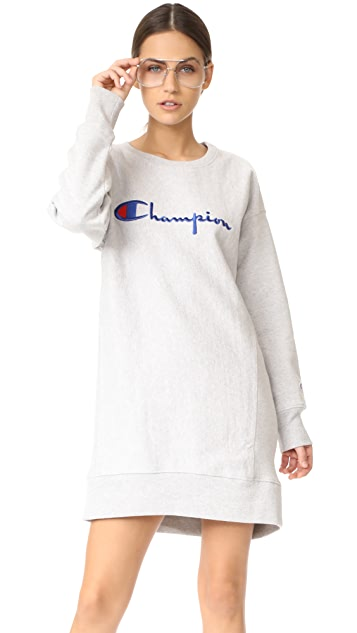 Champion Premium Reverse Weave Long Sleeve Dress