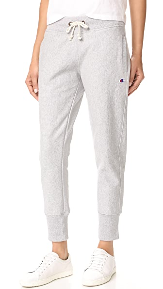 Champion Premium Reverse Weave Sweatpants - Grey