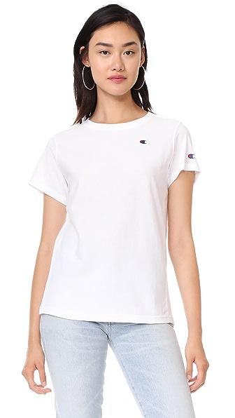 Champion Premium Reverse Weave T-Shirt - White