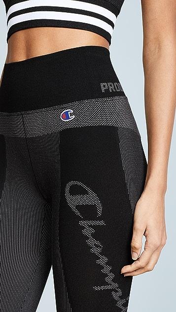 Champion Premium Reverse Weave Pinstriped Leggings