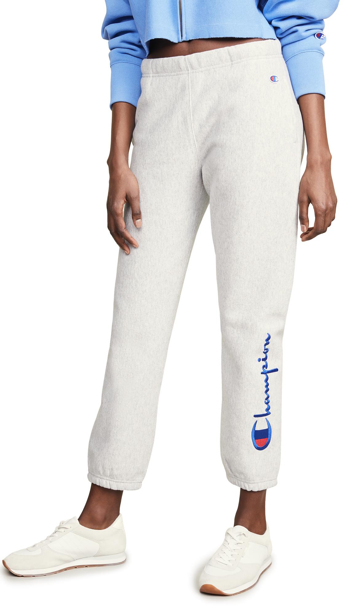 Champion Premium Reverse Weave Terry Cuff Pants
