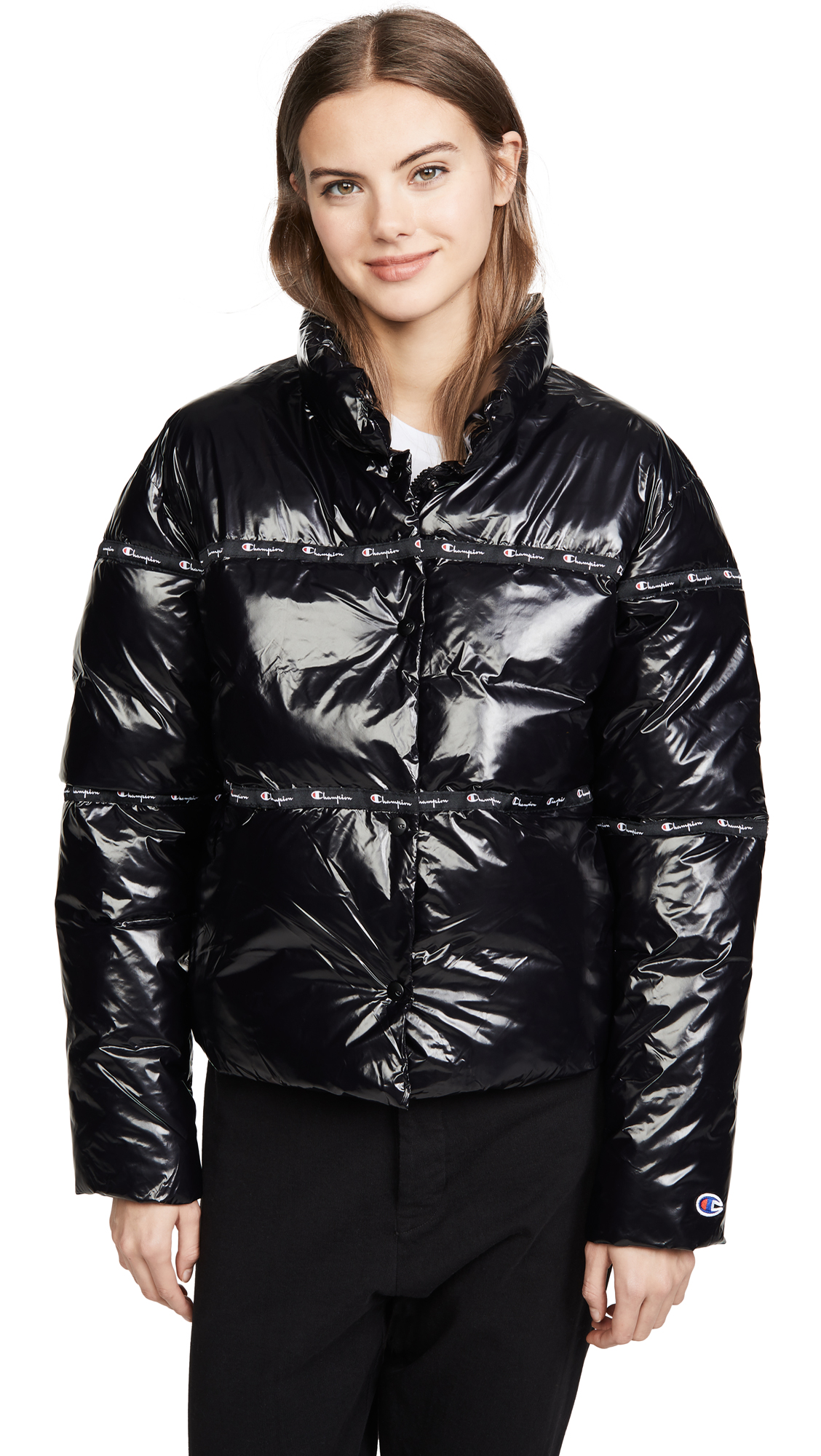 Buy Champion Premium Reverse Weave online - photo of Champion Premium Reverse Weave Puff Jacket