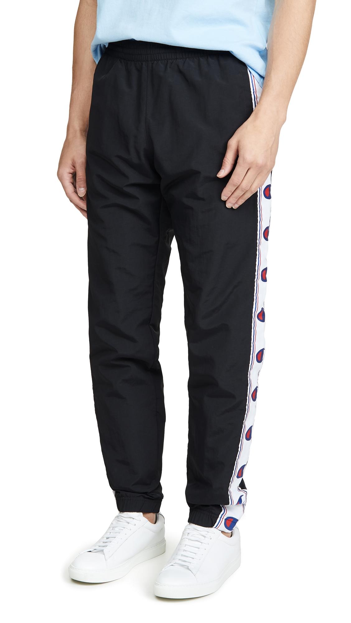 Champion Pants TAPED LOGO TRACK PANTS