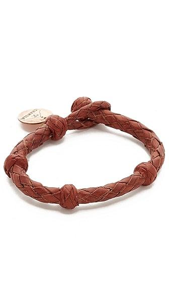 Chamula Round Woven Leather Bracelet