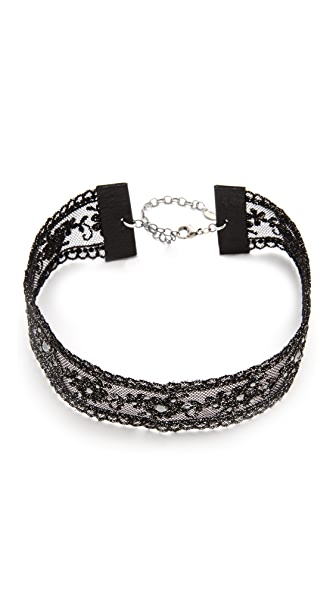 Chan Luu Embellished Choker Necklace