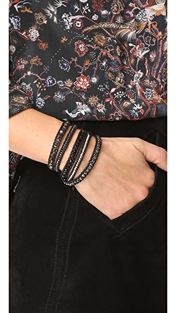 Chan Luu Mixed Up Wrap Braclet
