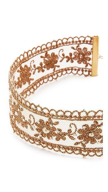 Chan Luu Metallic Choker Necklace