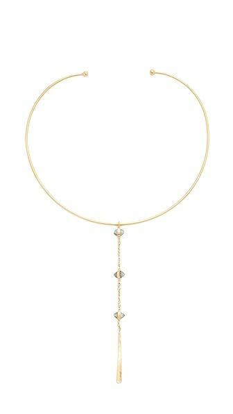 Chan Luu Drop Collar Necklace In Labradorite