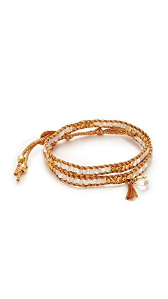 Chan Luu Wrap Bracelet - White Mix