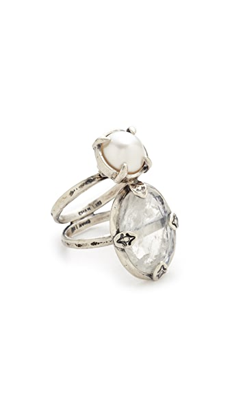 Chan Luu Double Stone Ring