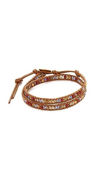 Chan Luu Double Wrap Bracelet In Multi Mix