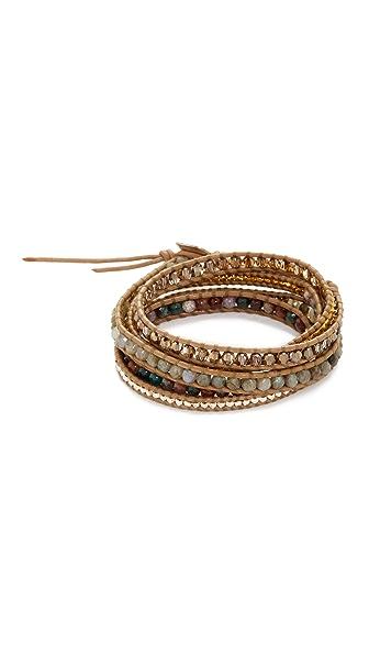 Chan Luu Wrap Bracelet - Fancy Jasper Mix
