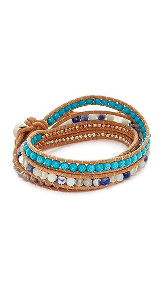 Chan Luu Wrap Bracelet - Amazonite Mix