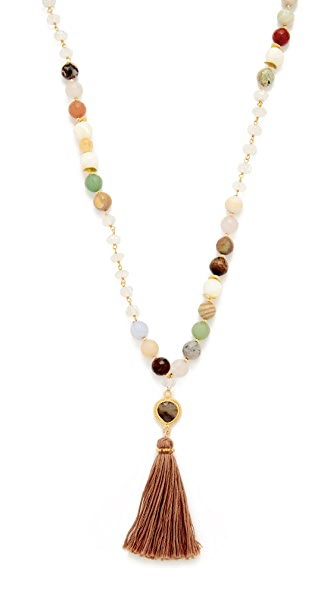 Chan Luu Tassel Necklace - Multi