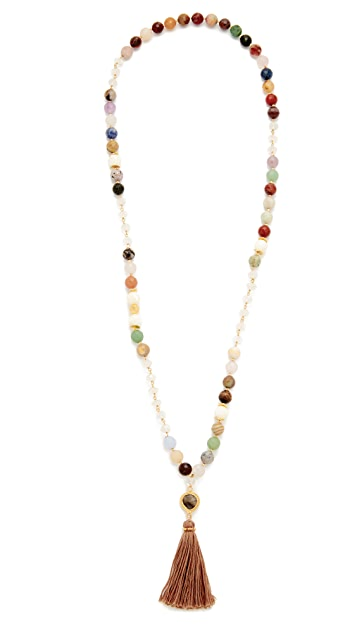 Chan Luu Tassel Necklace