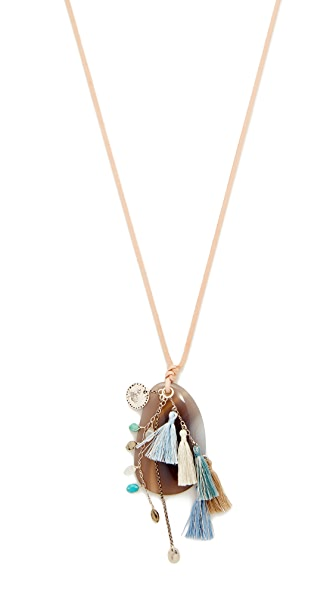 Chan Luu Pendant Necklace - Blue Mix
